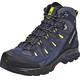 Salomon Quest Prime GTX Hiking Shoes Men Navy Blazer/Ombre Blue/Lime Punch